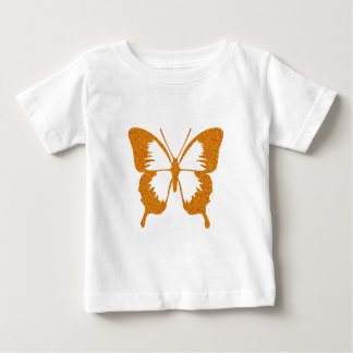 Butterfly in Gold Metallic Baby T-Shirt
