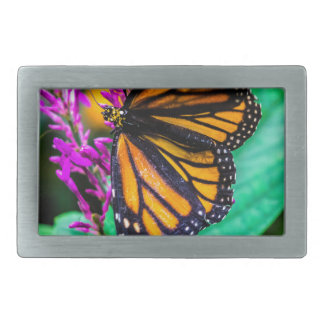 Butterfly in Nature Rectangular Belt Buckle