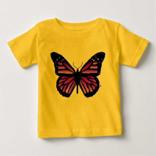 butterfly infant shirt. baby T-Shirt