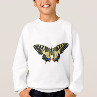 Butterfly Insect Wing Lepidoptera Nature Bright Sweatshirt