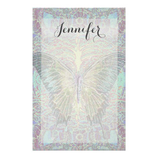Butterfly int the Garden Stationery