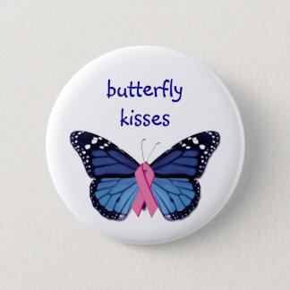 Butterfly Kisses Button