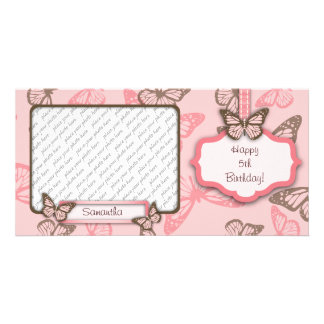Butterfly Kisses PhotoCard II Card