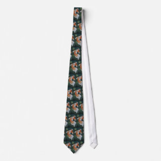 Butterfly Koi Fish Art Neck Tie