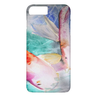 Butterfly Koi watercolour Japanese Fish Art iPhone 7 Plus Case