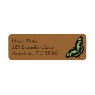 Butterfly Custom Return Address Label