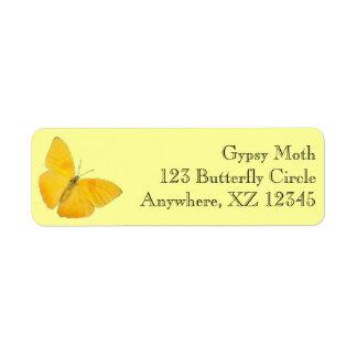 Butterfly Custom Return Address Labels