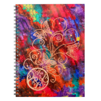 Butterfly Lace 6.5 x 8.75 Notebooks