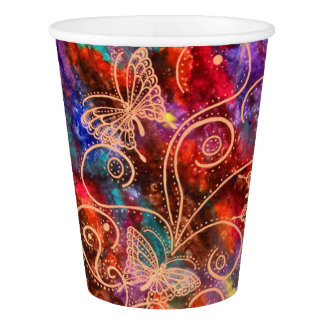 Butterfly Lace Paper Cups Paper Cup