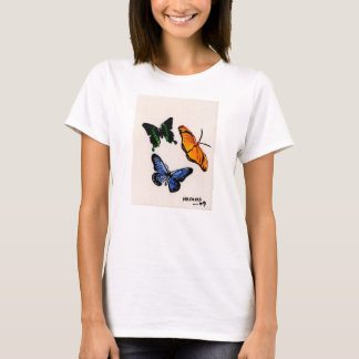 Butterfly Ladies T Shirt