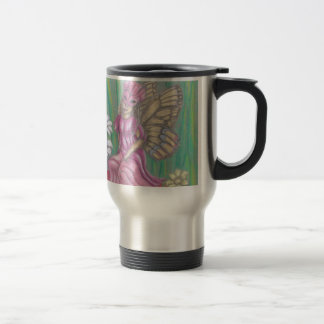 butterfly Lady Travel Mug