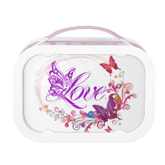 Butterfly love lunch box