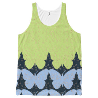 Butterfly-Love-Nature-Women's-Tops_Multi-Sizes All-Over-Print Tank Top