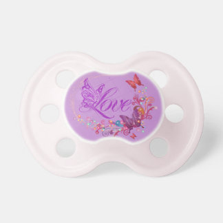 Butterfly love pacifier