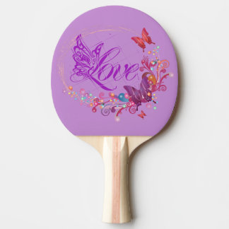 Butterfly love Ping-Pong paddle