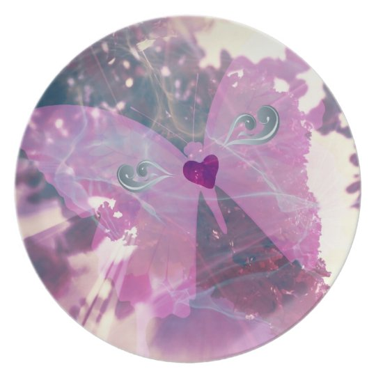 Butterfly Love Plate