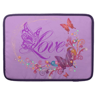 Butterfly love sleeves for MacBook pro