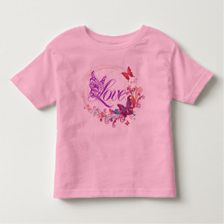 Butterfly love toddler t-shirt