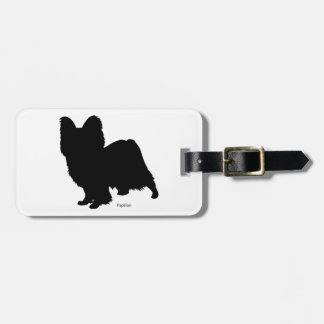 Butterfly luggage tag Papillon Luggage tag