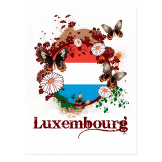 Butterfly Luxembourg Postcard