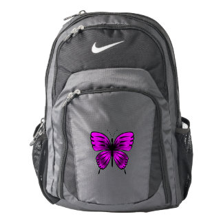 Butterfly_magenta Backpack