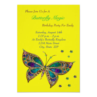 Butterfly Magic Birthday Card