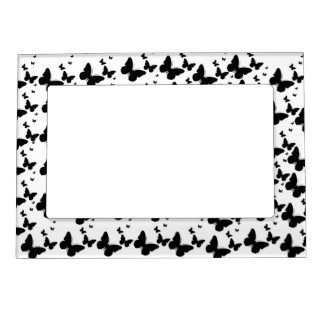 Butterfly magnetic frame