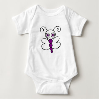 butterfly Mask-layer Baby Bodysuit