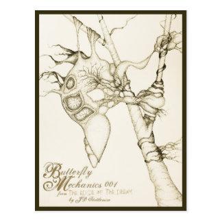 Butterfly Mechanics 001 Postcard