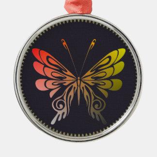 Butterfly Metal Ornament