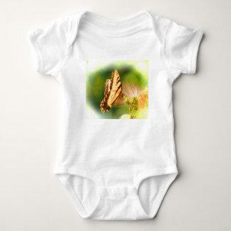 butterfly mimosa tree baby bodysuit