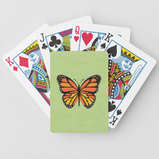 Butterfly Monarch Colorful Bicycle Playing Cards
