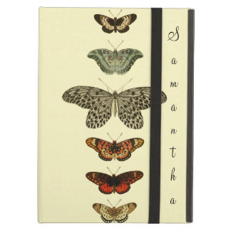 Butterfly Monogram Cover For iPad Air