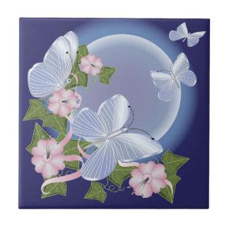 Butterfly Moon Beams Tile
