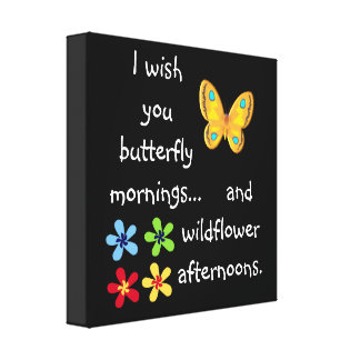 Butterfly mornings = Canvas art Print