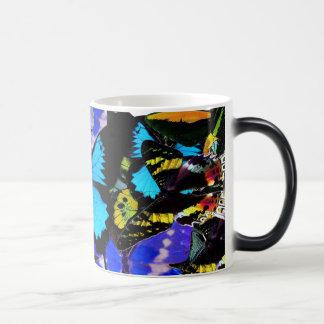 Butterfly Mosaic 11 Oz Magic Heat Color-Changing Coffee Mug