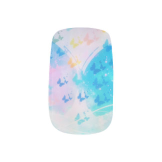 Butterfly nails it minx nail art