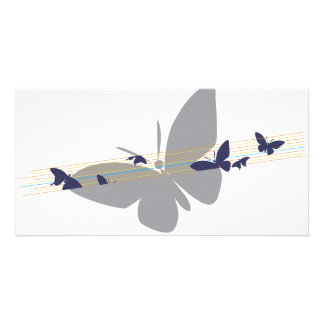butterfly name shirt custom photo card