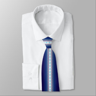 Butterfly Nation Blue Tie