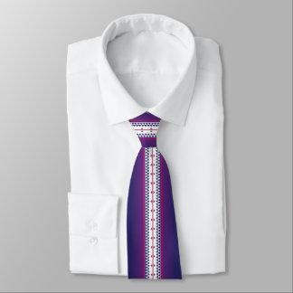 Butterfly Nation Purple Tie