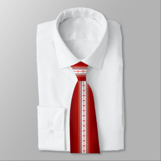 Butterfly Nation Red Tie
