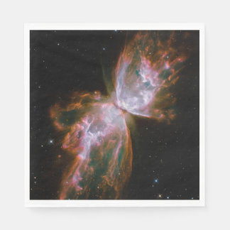 Butterfly Nebula Design Disposable Napkins