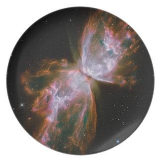 Butterfly Nebula Design Plate
