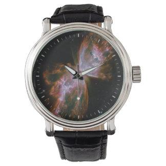 Butterfly Nebula Design Watch