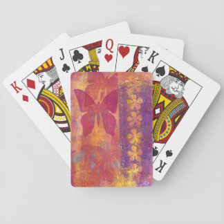 Butterfly notebook (g360) playing cards