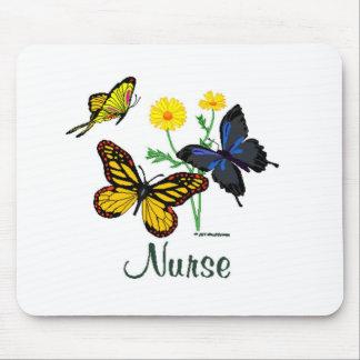 Butterfly Nurse Mouse Pad