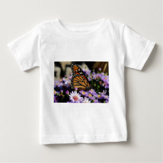 Butterfly on Asters Baby T-Shirt