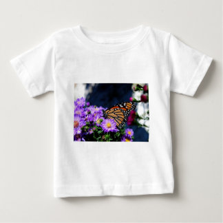 Butterfly on Asters III Baby T-Shirt