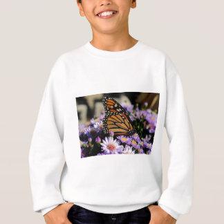 Butterfly on Asters Sweatshirt