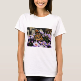 Butterfly on Asters T-Shirt